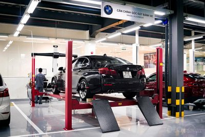 Xưởng dịch vụ BMW 2