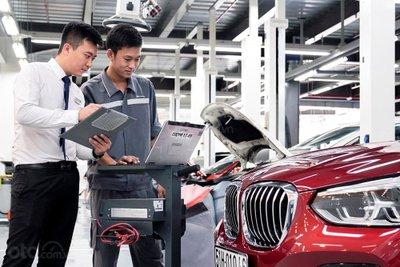 Xưởng dịch vụ BMW 4
