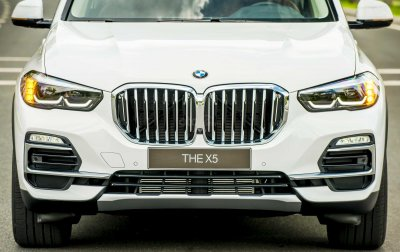Thiết kế phần đầu xe BMW X5