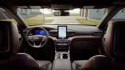 Nội thất xe Ford Explorer 2020