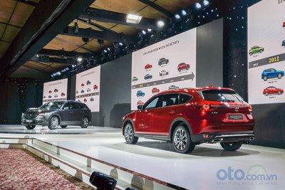 Bán ra chưa được 1 tuần, Mazda CX-8 đạt gần 400 xe giao khách hàng a1