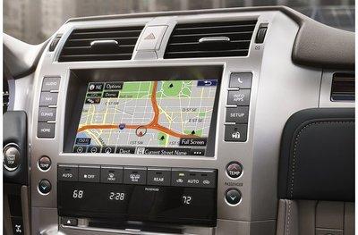 Màn hình chính của xe Lexus GX 2020
