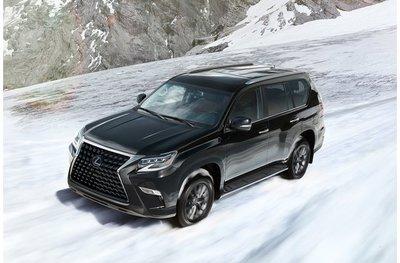 Lexus GX 2020 đi địa hình tuyết