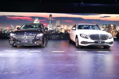 Lãi suất vay mua xe Mercedes-Benz E-Class 2019 trả góp cập nhật mới nhất 1a