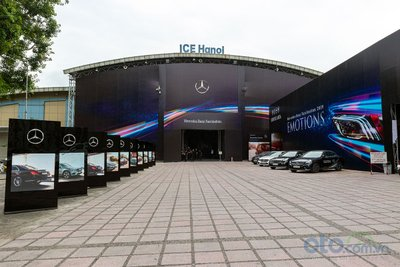Triển lãm thường niên Mercedes-Benz Fascination sẽ diễn ra tại Trung tâm Triển lãm Quốc tế, Hà Nội (ICE) từ ngày 10 – 14/07/2019.