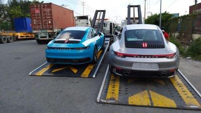 Bắt tại trận Porsche 911 thế hệ thứ 8 đã về đến Việt Nam 1a