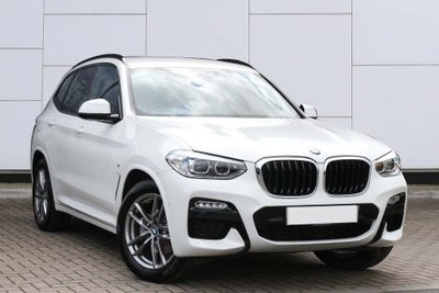 Đầu xe BMW X3