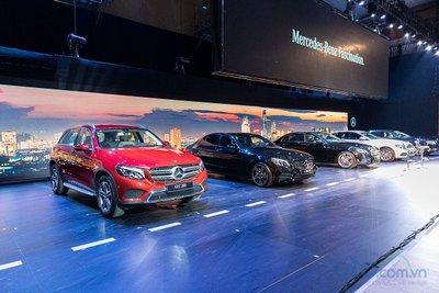 Những ngôi sao sáng của Mercedes-Benz tại thị trường Việt Nam.