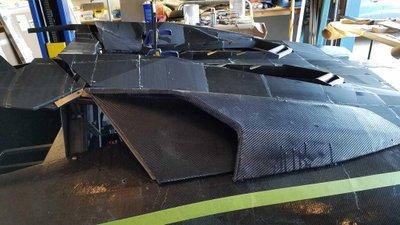 Ngắm chiếc Lamborghini Aventador 3D tự chế của hai bố con Tiến sĩ vật lý a6
