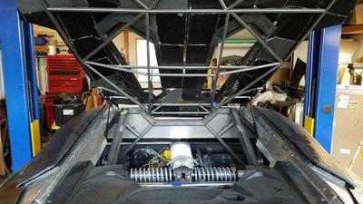 Ngắm chiếc Lamborghini Aventador 3D tự chế của hai bố con Tiến sĩ vật lý a15