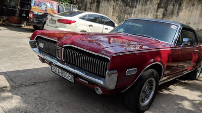 Rapper Việt tậu chi tiền tỷ sắm xế cổ Mercury Cougar 1968 a8