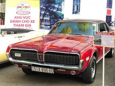 Rapper Việt tậu chi tiền tỷ sắm xế cổ Mercury Cougar 1968 a7