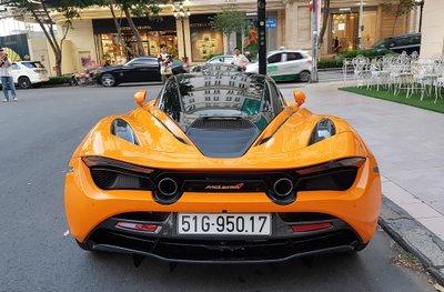 Cường Đô La tái xuất McLaren 720S trên phố sau khi bỏ qua Car Passion 2019 7a