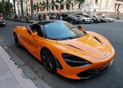 Cường Đô La tái xuất McLaren 720S trên phố sau khi bỏ qua Car Passion 2019 4a