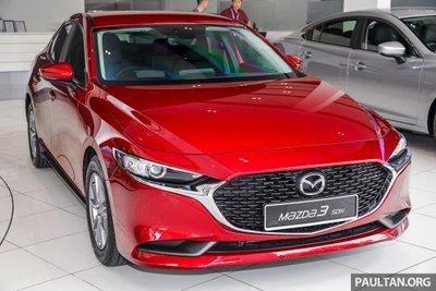 Soi chi tiết mẫu Mazda 3 2019 nhập khẩu từ Nhật, giá 34.000 USD tại Malaysia a1