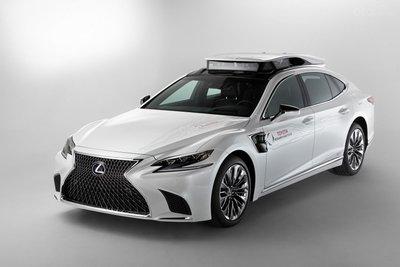 Công nghệ tự hành mới từ Lexus sẽ sớm xuất hiện