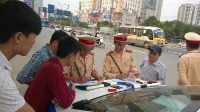 Những chốt giao thông tại Hà Nội dễ bị phạt những lỗi cơ bản tài xế cần chú ý 3a