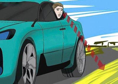 Trường hợp khẩn cấp cần nhảy ra khỏi xe ô tô như nào cho an toàn? 5a