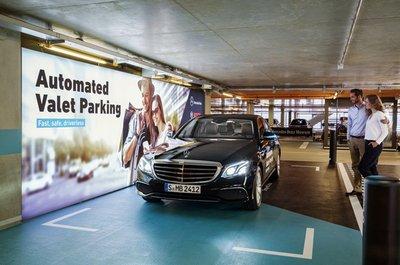 Xe Mercedes-Benz sắp có thêm hệ thống bãi đỗ xe tự động a1