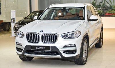 Giá xe BMW X3 cập nhật chi tiết mới nhất.