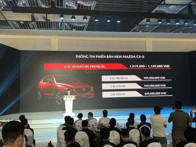 Thông số kỹ thuật xe Mazda CX-5 2019 vừa ra mắt Việt Nam a2