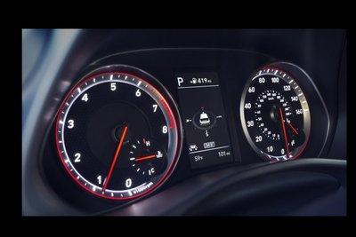 Hyundai Veloster 2020 cụm đồng hồ
