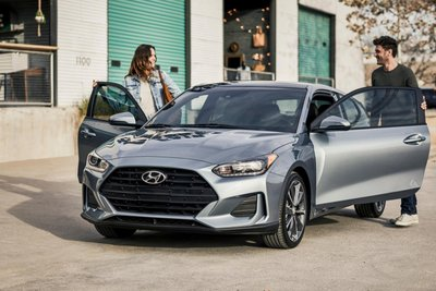 Hyundai Veloster 2020 đầu xe