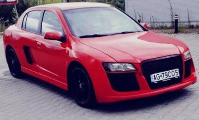 """""""Xe cỏ"""" trở nên sang chảnh khi độ phong cách Audi R8 a1"""