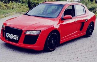 """""""Xe cỏ"""" trở nên sang chảnh khi độ phong cách Audi R8 a7"""