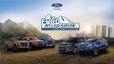 Ford tổ chức Chương trình lái thử xe - Ford Roadshow 2019 tại 19 tỉnh thành trên cả nước.