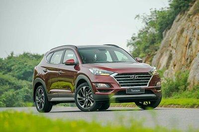 Hyundai Tucson có mức giảm từ 17 - 22 triệu đồng