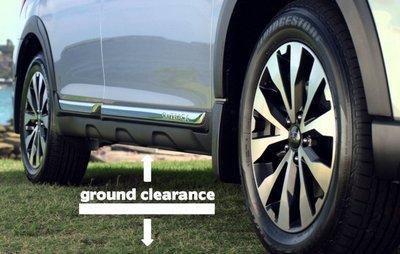 Khoảng sáng gầm xe là khoảng cách tính từ mặt đất cho tới điểm thấp nhất của gầm xe.