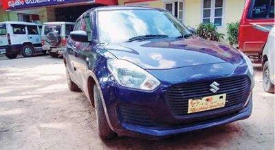 Cảnh sát tóm gọn tên trộm ô tô Suzuki Swift nhờ chiêu xin lái thử a1