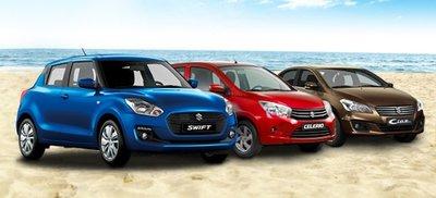 Suzuki Celerio, Ertiga, Swift và Ciaz khuyến mại lớn trong tháng 8/2019.