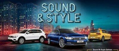 Volkswagen Passat và Tiguan bổ sung phiên bản Sound and Style