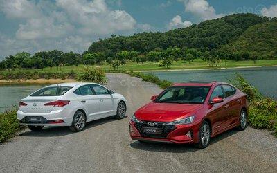 Doanh số Hyundai Elantra giảm nhẹ trong tháng 7