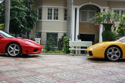 Lamborghini Gallardo và Ferrari 360 Spider đầu tiên của Cường Đô la