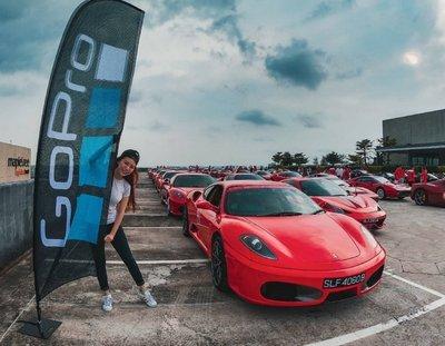 Dàn siêu xe Ferrari tập hợp ở Singapore 4