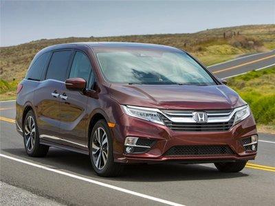 Top 5 mẫu xe sở hữu nhiều giải thưởng danh giá nhất năm 2019 - Honda Odyssey.