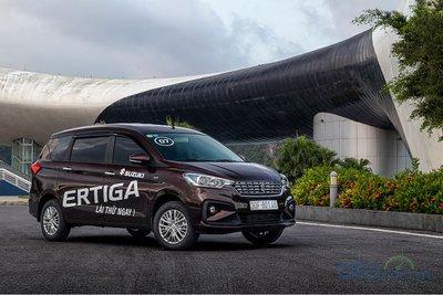 Suzuki Ertiga vươn lên vị trí số 3 sau hơn một tháng ra mắt