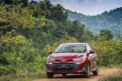 """Toyota Vios vẫn giữ được vị trí """"ngôi vương"""" doanh số tháng 7/2019"""