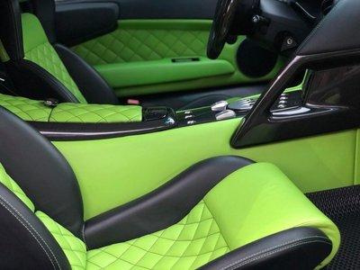 Nội thất của Lamborghini Murcielago LP640 Verde Ithaca
