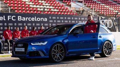 Audi RS6 Avant Performance của Messi