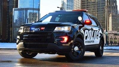 Ford Police Interceptor Utility 2017.