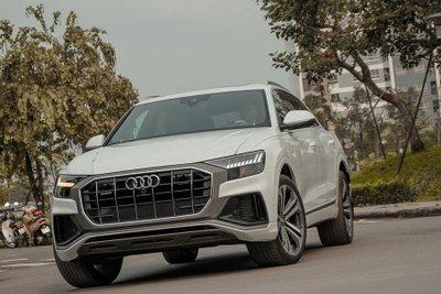 Chiếc Audi Q8 này có giá 6,1 tỷ đồng