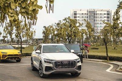 Audi Q8 màu trắng nhập khẩu tư nhân cuối tháng 4 đã về tay chủ sở hữu Hà thành