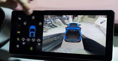 Màn hình giải trí cảm ứng HD 10,25 inch hỗ trợ cổng kết nối với smartphone