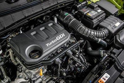 Hyundai Kona Play sử dụng động cơ tăng áp T-GDi công suất 118 mã lực