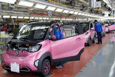 Tháng 7/2019, doanh số bán ô tô ở Trung Quốc ở mảng EV suy sụp dần