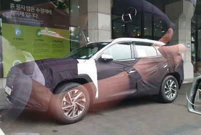Cấu hình 7 chỗ Hyundai Tucson thế hệ mới từng chạy thử tại Trung Quốc